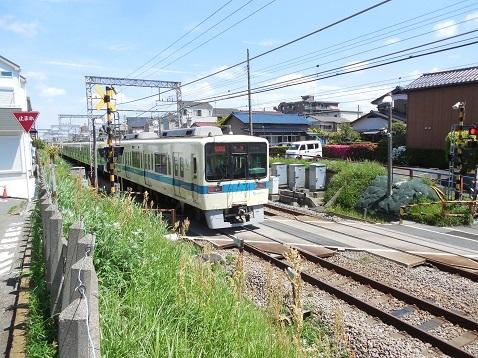小田急江ノ島線の桜ヶ丘3号踏切@大和市e