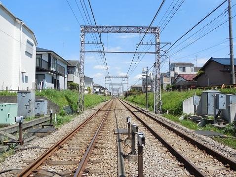 小田急江ノ島線の桜ヶ丘3号踏切@大和市c
