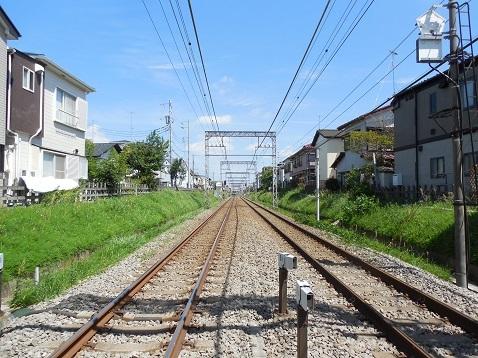小田急江ノ島線の桜ヶ丘4号踏切@大和市c