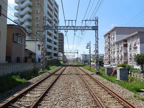 小田急江ノ島線の桜ヶ丘5号踏切@大和市e