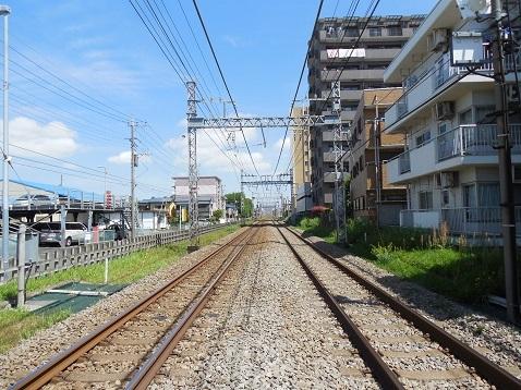 小田急江ノ島線の桜ヶ丘6号踏切@大和市f