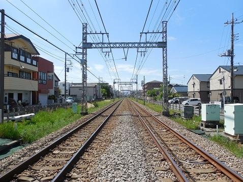 小田急江ノ島線の桜ヶ丘6号踏切@大和市g