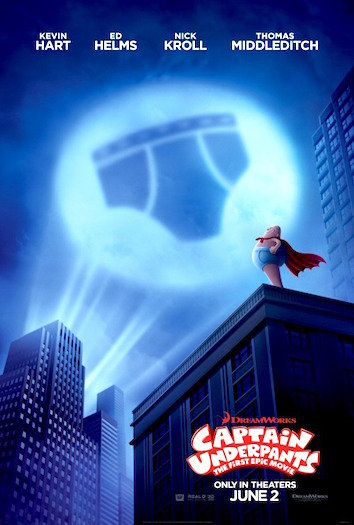 Captain Underpants Poster
