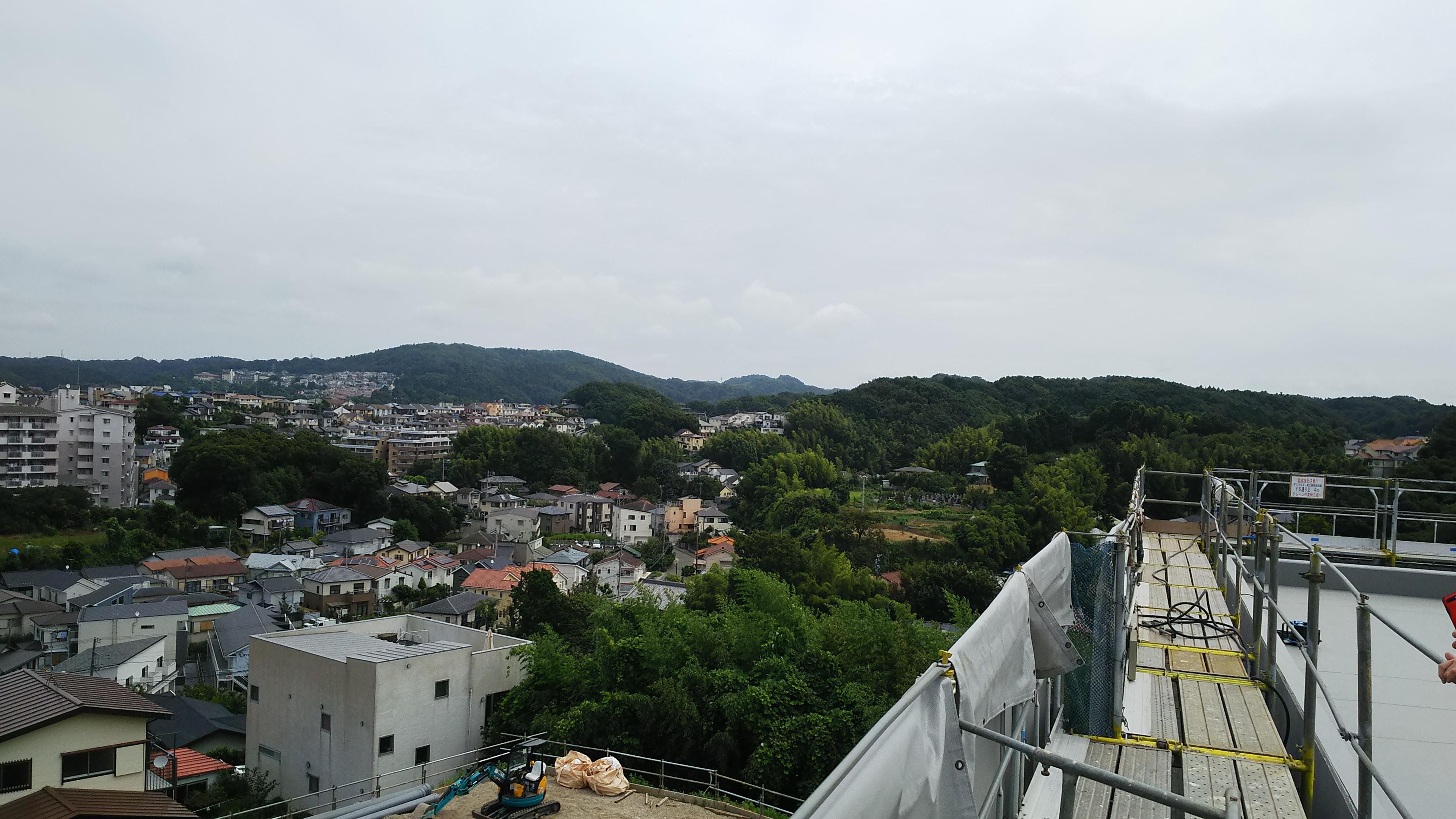 鎌倉方面への眺め