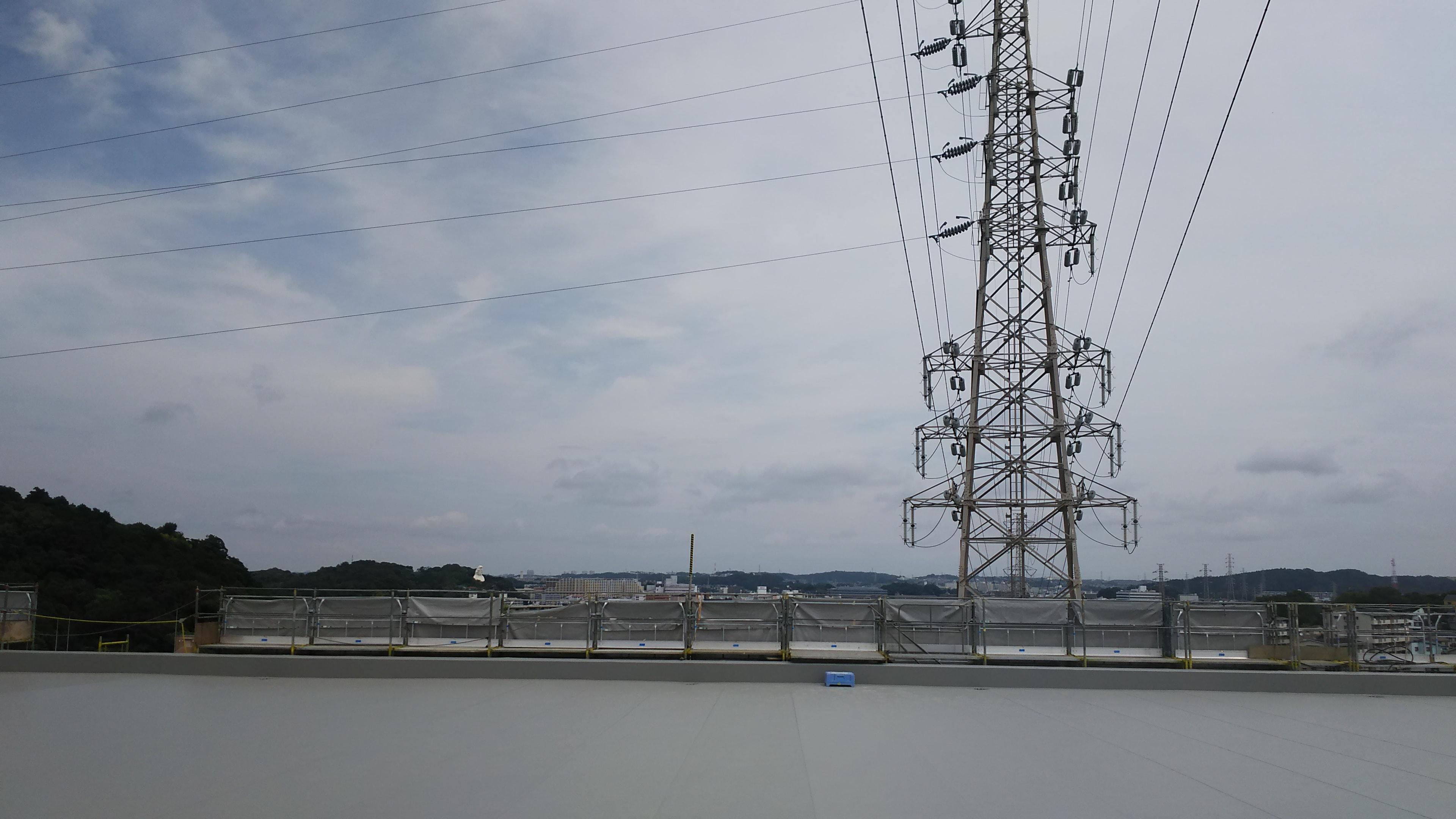 屋上正面より大船方面