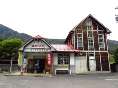 松電旧島々駅