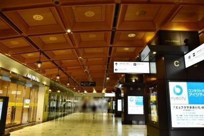 大分駅コンコースの格天井