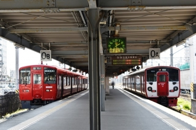 終着熊本駅