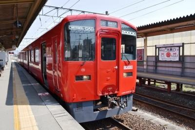 豊肥本線普通熊本行きキハ200形1番台