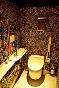 或る列車車椅子対応トイレ