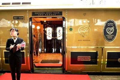 或る列車1号車両開き乗降扉