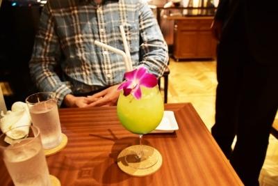 ノンアルコールのカクテル 四季島