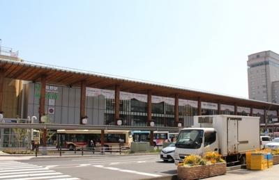 リニューアルしたJR長野駅
