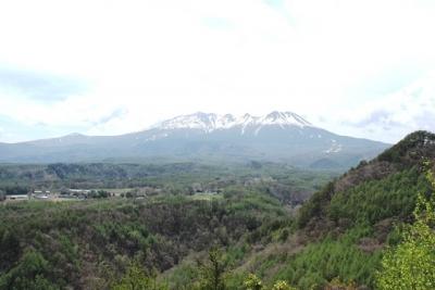 開田高原から望む御嶽山
