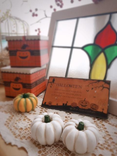 2017.9.7セリアの白かぼちゃ