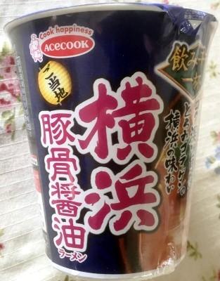 エースコック 横浜豚骨醤油ラーメン