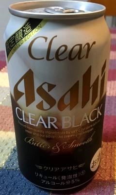 Clear Asahi CLEAR BLACK