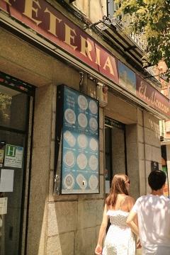00111M Restaurante El Alcazar