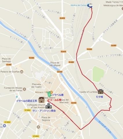 Mapa de Medina del Campo 01