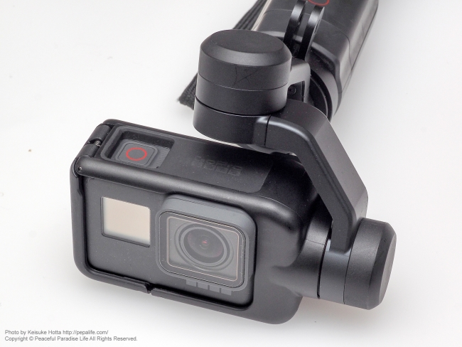 GoPro HERO5 BLACK + KARMA GRIP 合体