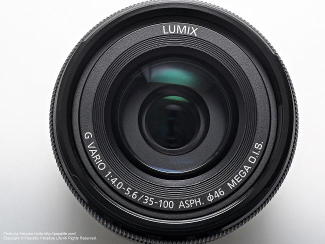 LUMIX G VARIO 35-100mm / F4.0-5.6 ASPH. / MEGA O.I.S.
