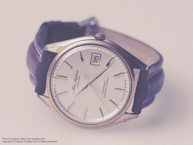 セイコー スカイライナー カレンダー 62系 手巻き腕時計
