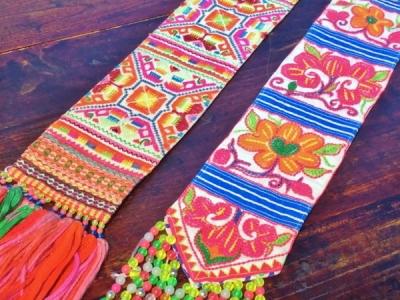 タイのモン族刺繍アイテム入荷しました