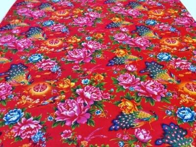 復刻デザインのコーデュロイ花布&秋色の花布