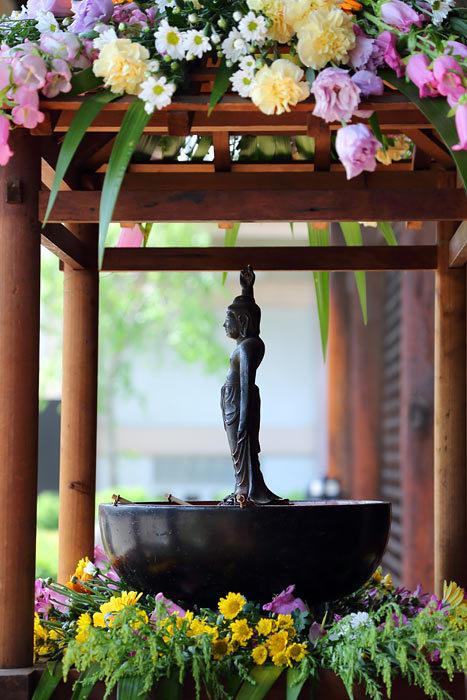 元興寺 仏生会1