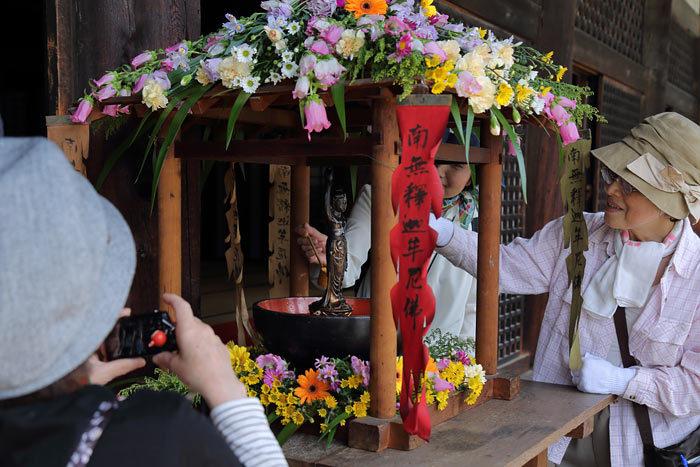 元興寺 仏生会2