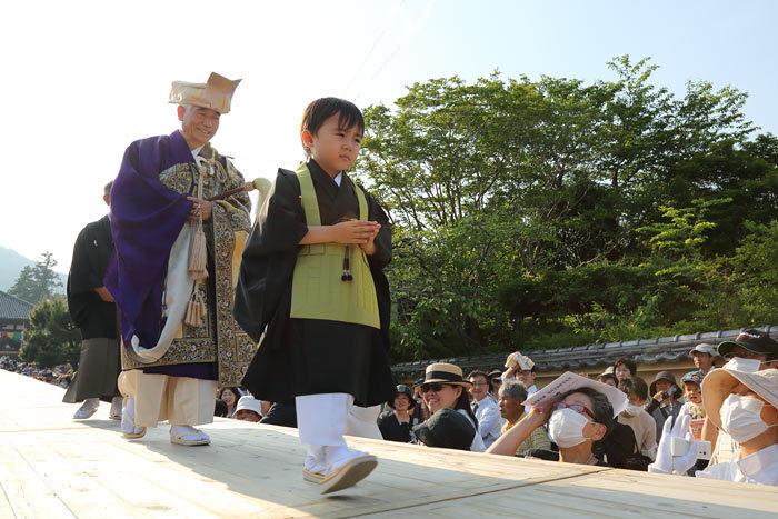 當麻寺 練供養会式4