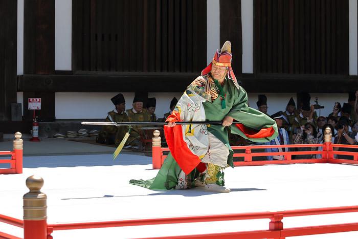 唐招提寺 舞楽1