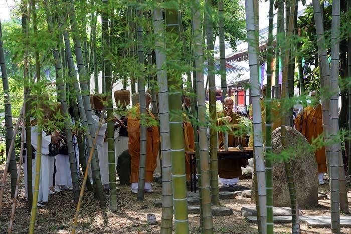 大安寺 竹供養3