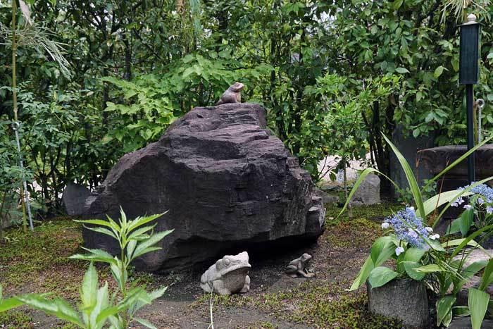 元興寺 かえる石供養1
