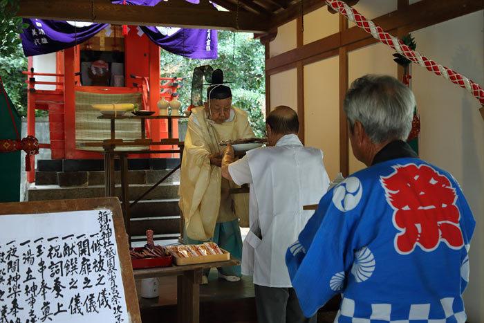 新城神社 祇園祭2