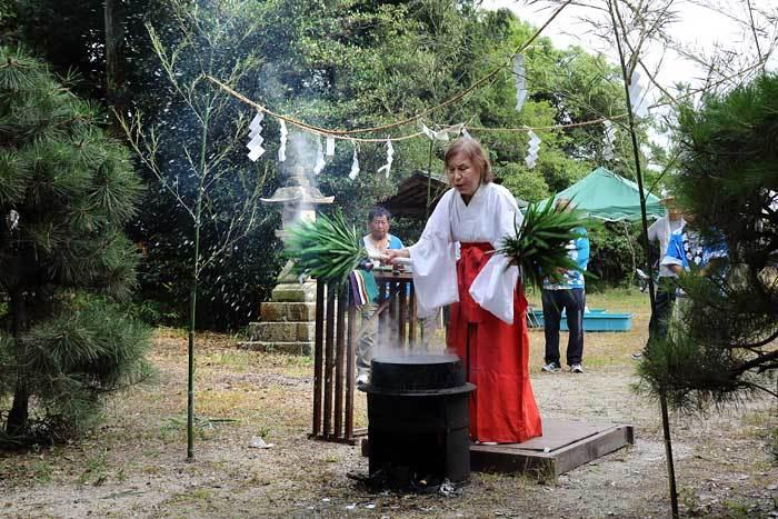 新城神社 祇園祭3