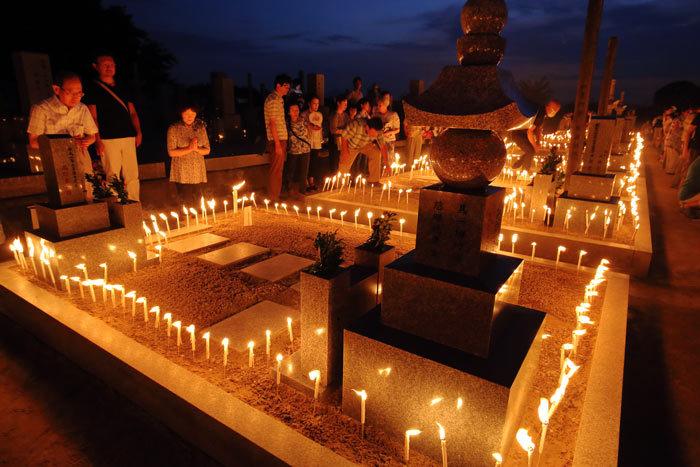 川西町 墓会式2