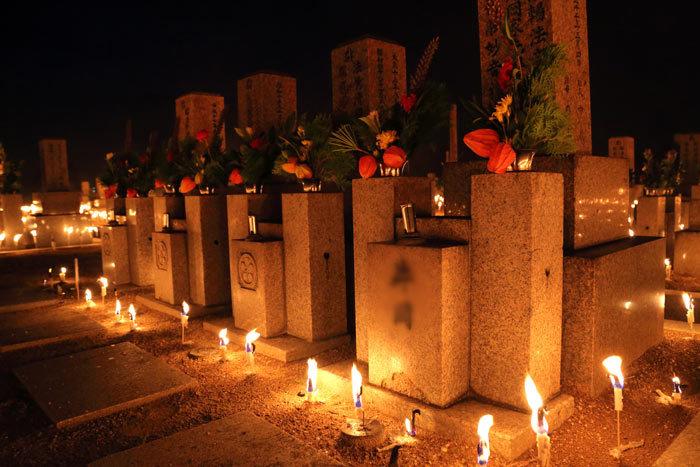 川西町 墓会式3