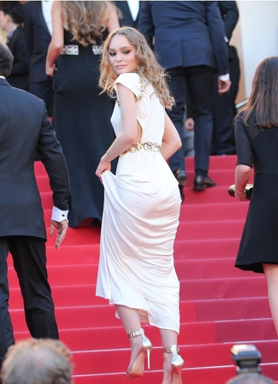 0518 Lily Rose, Cannes