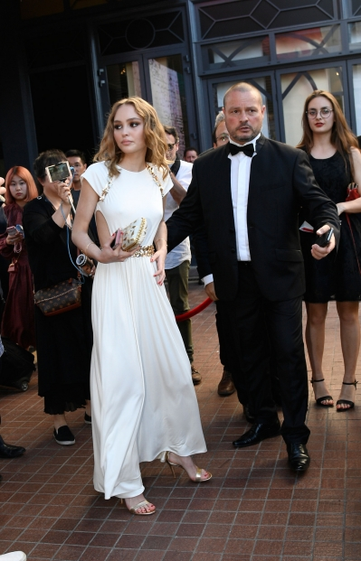 0518 Lily Rose, Cannes3