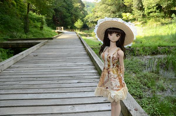 小隠里@亀山の森林公園で森林浴