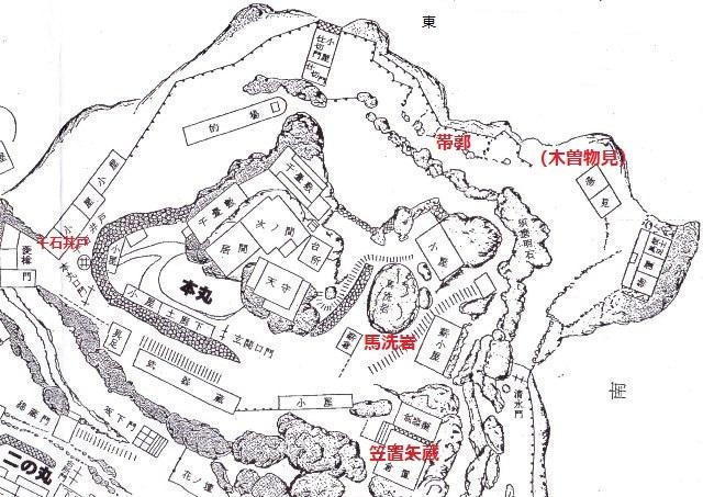 苗木城中枢部