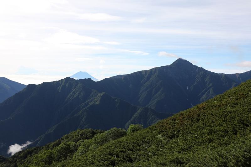 北岳と富士2170804