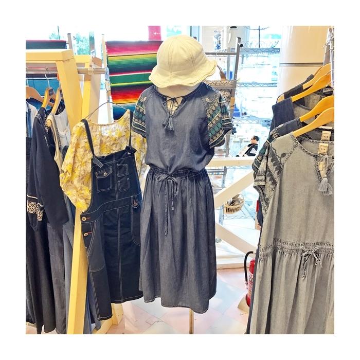 2017-06-14 肩刺繍デニムワンピース AIC (1)