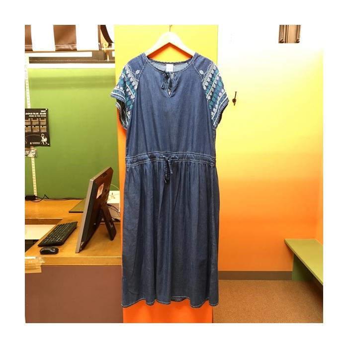 2017-06-14 肩刺繍デニムワンピース AIC (3)