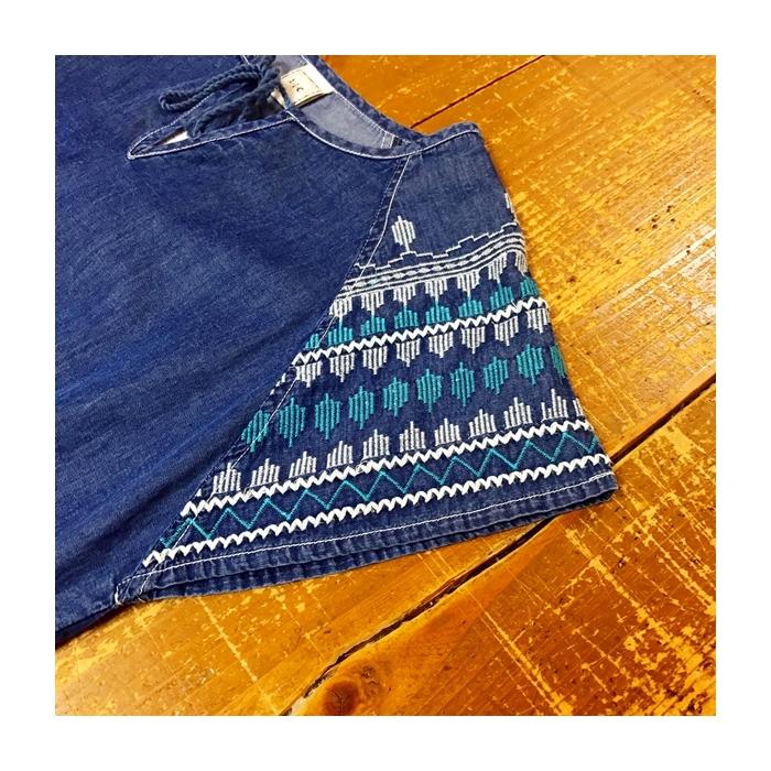 2017-06-14 肩刺繍デニムワンピース AIC (4)