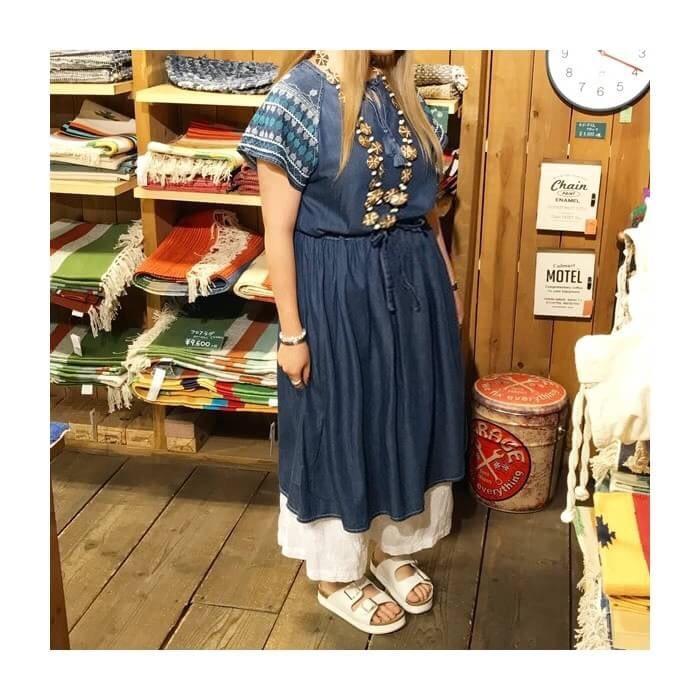 2017-06-14 肩刺繍デニムワンピース AIC (6)3
