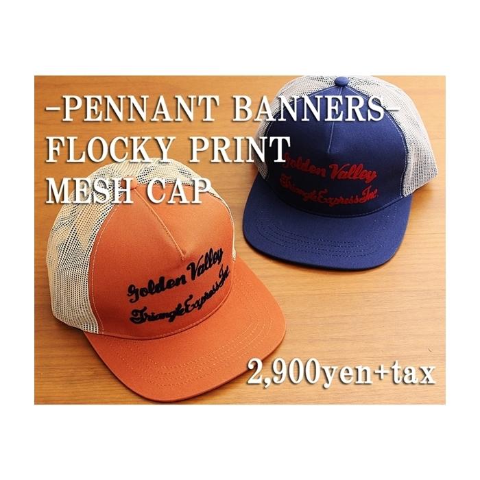 2017-06-26 フロッキープリントメッシュキャップ ペナントバナーズ PENNANT BANNERS 2