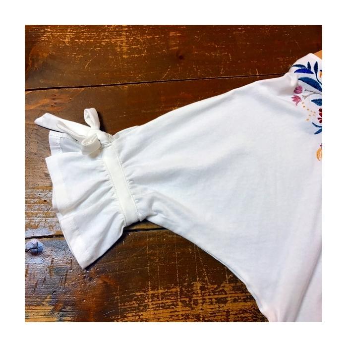2017-07-12 花柄刺繍カットソー ONON (7)