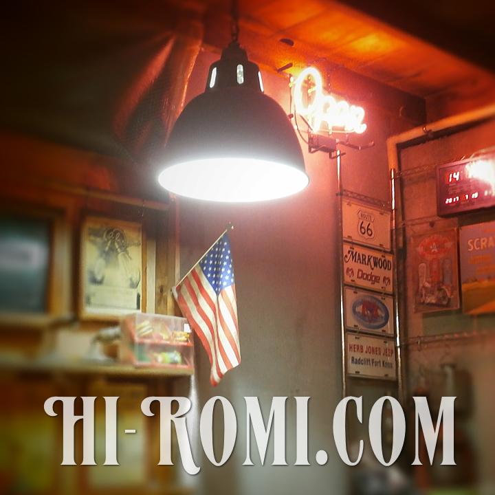 Hi-Romi.com(ハイロミ)の 作業場一角。